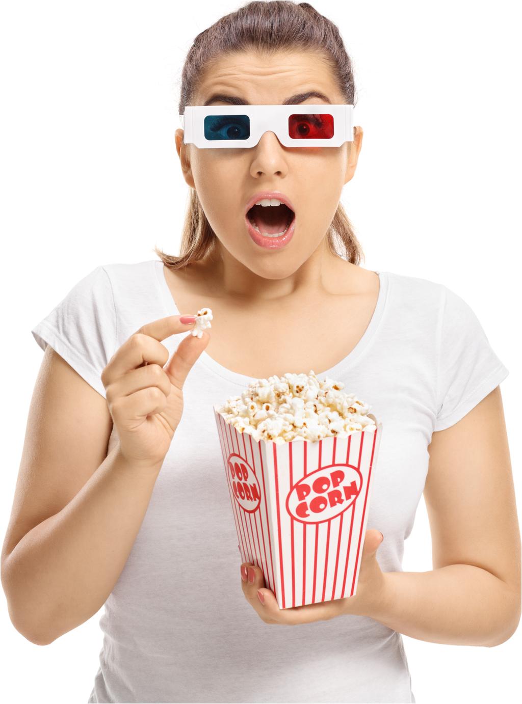 Home Theatre Columbus Ohio Popcorn Girl